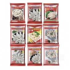 2 Bags of JJ Dumplings 1.4lb/ea 10 Flavor to Choose