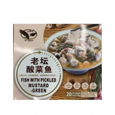AC Boxed Pickled Mustard Sour Fish Fillet (Include Seasoning) 570g