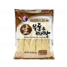 Show Brand Korean Fresh Ramen  Noodle regular  Noodle brown Bag 1kg