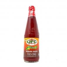 2 Bottles UFC Banana Sauce Hot 550G