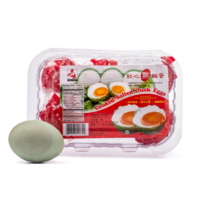 Asian Taste Cooked Salted Duck Eggs 6pc/Packet 360g.