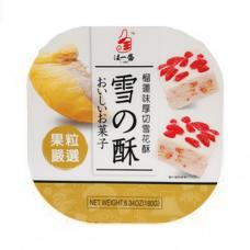 Snow Flake Crisp Durian Flavor 180g.