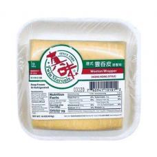 TM Wonton Wrapper Hong Kong Style 16oz