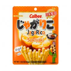 Calbee Jagarico Sukiyaki Flavor 52g