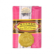 Bee And Flower Rose Soap  4.4oz