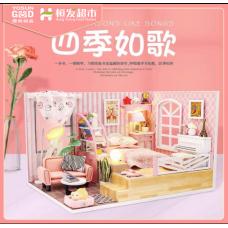 Four Seasons are Like A Song DIY Dollhouse (YoSun Good)